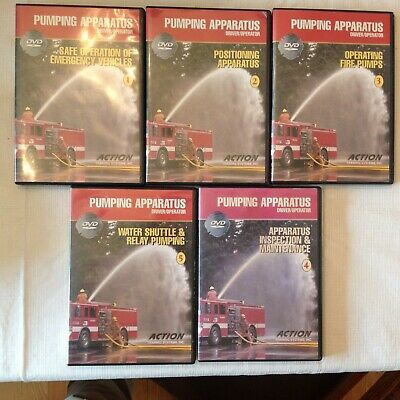Action Training: Pumping Apparatus 5 DVD set