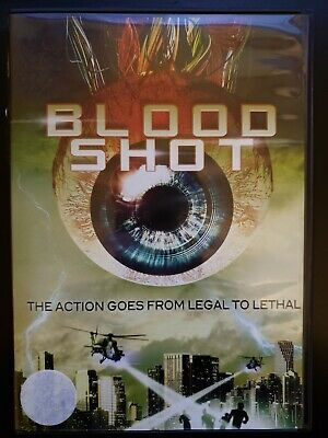 Blood Shot RARE OOP DVD COMPLETE WITH CASE & COVER ARTWORK BUY 2 GET 1 FREE
