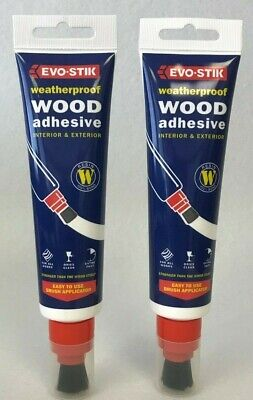 Wood Adhesive x 2 Pack 150ml EvoStick Weatherproof Glue Extra Strong Quality