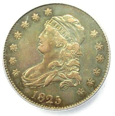 1825/3 Capped Bust Quarter 25C - Certified ICG VF35 - Rare Silver Coin!