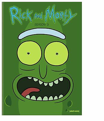 NEW with slip cover rick and morty third season 3 three dvd free1st cls s&h