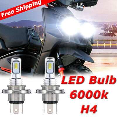 ZR8000 35W White High Power 5000 LM Sixty61 LED Headlight Bulbs for Arctic Cat ZR 8000 2014-2019 High-Low Beams