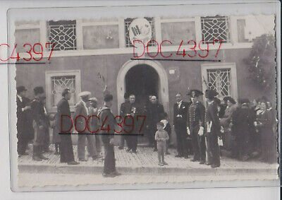 Acquaviva Collecroce Campobasso Foto Cartolina Animata Regime Fpnv Super 1933