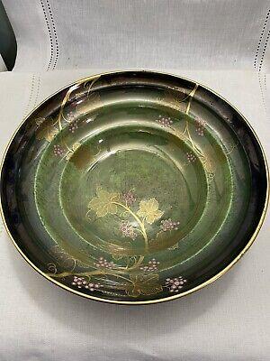 Great Carlton Ware Vert Royal Grapes & Vines Serving Bowl