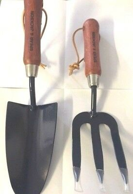 Linic Products UK Made Lightweight Garden Trowel and Fork. X1186 Free UK Postage.