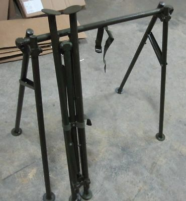 1 Set Of Usgi Military Stretcher Stands New Very Well Made Litter Folding