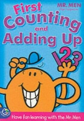 Mr Men Learning Pad: First Count by John Malam Paperback Book The Cheap Fast
