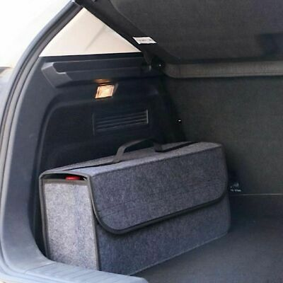 Car Trunk Organizer Storage Bag Cargo Container Box Fireproof Stowing Tidying