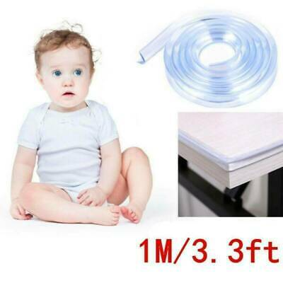 Baby Safety Table Desk Edge Transparent Edge Corner Protector Strip Soft Bumper
