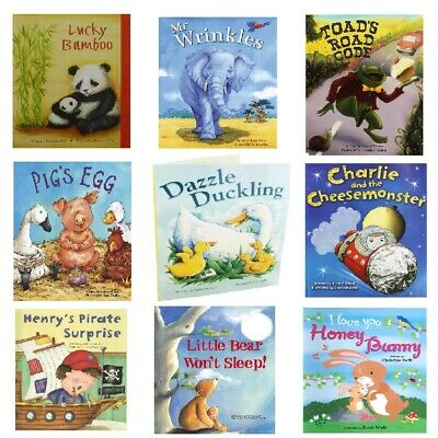 Quality Childrens Illustrated Story Books - Large Kids Bedtime Picture Paperback