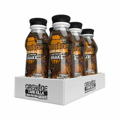 Grenade Carb Killa Protein Low Carbs Shake Drink 6 x 500ml 38g Protein / Bottle
