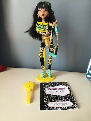 Monster High Cleo De Nile Schools Out Egyptian Doll Mattel 99% Complete EUC Rare