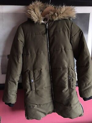 Matalan Girl Candy Couture Lovely Winter Jacket Cosy Fur Lining Age 12 Used Once