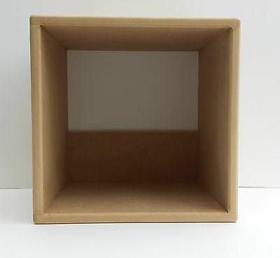 """12"""" Pair Of  Vinyl Record Storage Cube  ( 3 Cube Special Offer)"""
