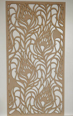 Radiator Cabinet decor. Screening Perforated 3mm & 6mm thick MDF laser cut JO1