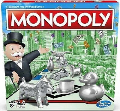 Monopoly Classic Family Board Game New