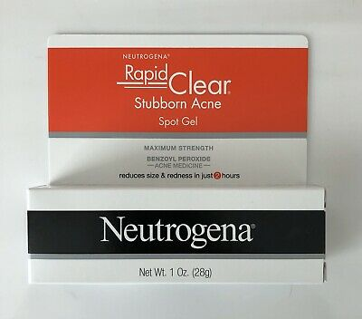 Neutrogena Rapid Clear Stubborn Acne Daily Leave On Mask 2 Oz Exp