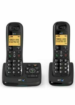 BT XD56 Cordless Phone + Answering Machine -Twin Handsets , call ID