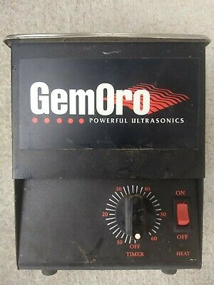 GemOro  Ultrasonic Cleaner  2 Qt  with heater