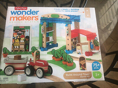Fisher Price Wonder Makers Design System Vehicle 6 Pack Set Of 6 3 Piece V 16 95 Picclick