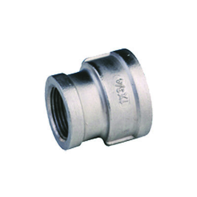 Stainless Steel Reducing Socket Female x Female BSP