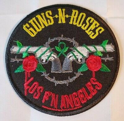 Free  Post From 7cm To 10cm 1 x GUNS ROSES,ACDC,PANTERA,NIRVANA IRON ON PATCH