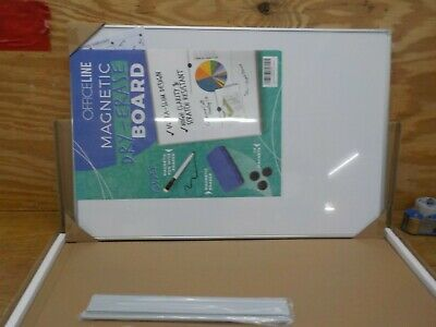 Officeline Ultra-Slim, Lightweight Magnetic Dry Erase Board & Accessories (Inclu