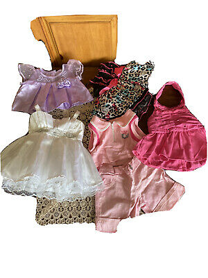 Build a Bear Clothes 6PC Princess Dress Hello Kitty Outfit Lot