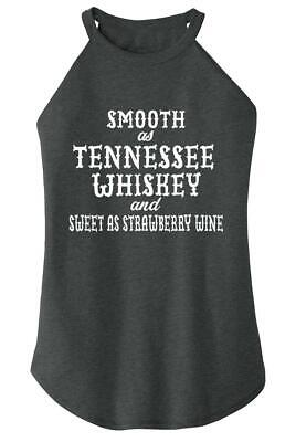 Ladies Smooth As Tennessee Whiskey Rocker Alcohol Country Redneck Party