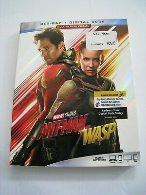 Ant-Man and the WASP (Blu Ray slip cover only) No Disc No Blu Ray