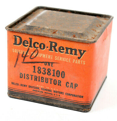 New old stock Delco Remy Distributor Cap 1837974 Remax ES209 Buick Cadillac