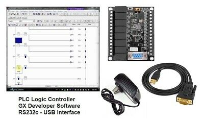 PLC Programmable Controller & Software Ladder programming & Learning Automation