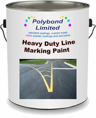 Heavy Duty Reflective Road Line Marking Paint - Yellow/White  2.5L 5L