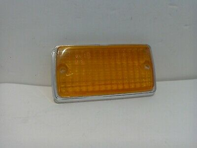 Ford Escort Mk1 Rs Mexico Twin Cam Front Amber Lens Chrome Edge Nos Org Ford