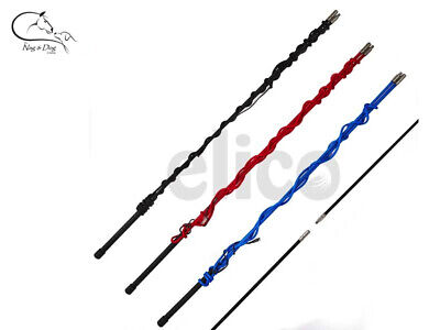 Elico Two-Part Lunging/Training Extra Long Horse/Pony Whip/Stick 180cm FREE P&P
