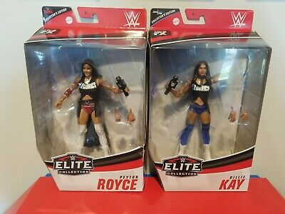 WWE ELITE MATTEL BILLIE KAY AND PEYTON ROYCE ICONICS COLLECTORS EDITION CHASE