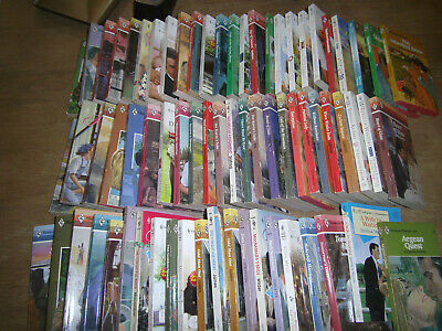 Harlequin lot of 100 paperbacks Some Vintage Dated 1973 to 2012