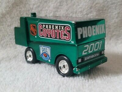 2013//14 DALLAS STARS ZAMBONI ELECTRONIC NHL COIN COUNTING BANK,1:24 SCALE
