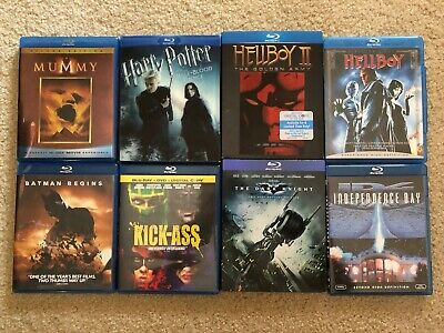 Blu Ray Movies Lot Sale - Choose the movie you want