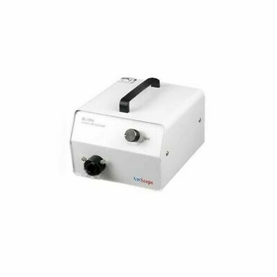 AmScope 150W High-Power Halogen Fiber-Optic Microscope Illuminator