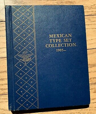Mexico Type Set Collection (Whitman) 1905 - With 44 Coins