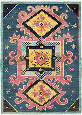 "Hand-knotted  Carpet 6'3"" x 8'10"" Shalimar Transitional Wool Rug"