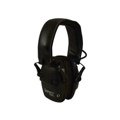Genuine Howard Leight Impact Sport Electronic Earmuff Class 4 Black 1030942
