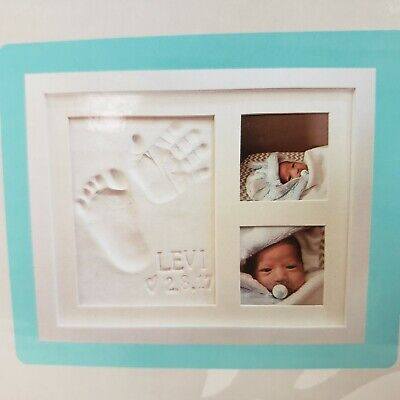 Baby Handprint & Footprint Keepsake Photo Frame Kit Baby Mushroom