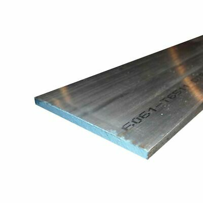 "6061 Aluminum Rectangle Bar, 0.500"" x 5"" x 24"""