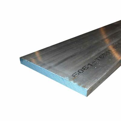 "6061 Aluminum Rectangle Bar, 1"" x 6"" x 12"""