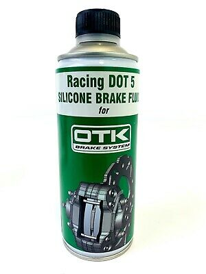 TonyKart / OTK Genuine Silicone DOT 5 Brake Fluid 500ml Rotax / X30 / Cadet Kart