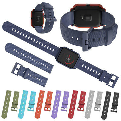 Replacement Silicone Sport Wrist Band Strap For Xiaomi Amazfit Bip Youth/Pace