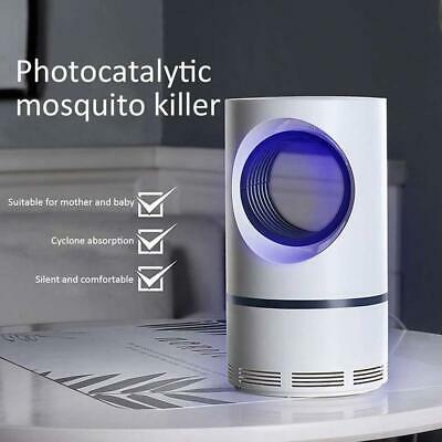 USB ELECTRIC UV LIGHT MOSQUITO KILLER INSECT GRILL FLY BUG ZAPPER TRAP  New