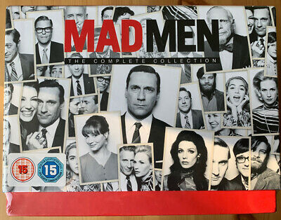Man Men The Complete Collection (seasons 1-7) Blu-Ray *New & Sealed*